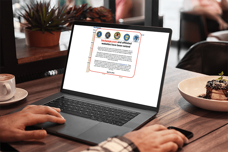 Browse Backpage on a Macbook